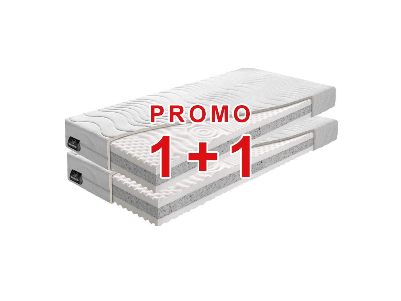 Habszivacs matrac Dream Optimal 2.0 200x80 cm (T5)  AKCIÓ 1+1  eed80ff312